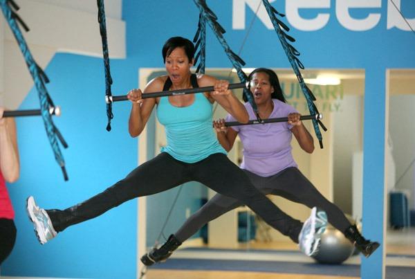 Regina King Workout 2