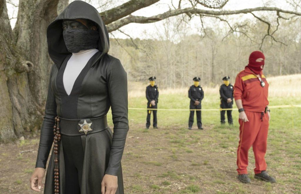 Regina King Workout Watchmen