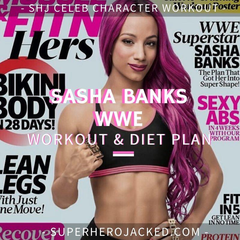 Sasha Banks WWE Workout and Diet