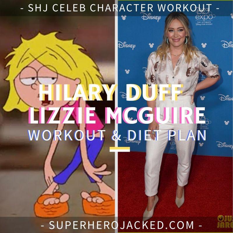 Hilary Duff Lizzie McGuire Workout & Diet Plan