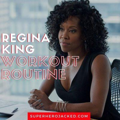 Regina King Workout