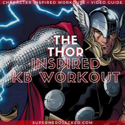 Thor Inspired Kettlebell Workout