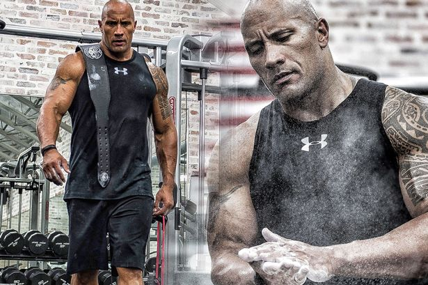 Dwayne Johnson Gym Belt