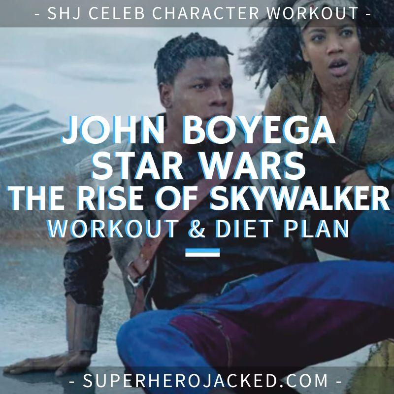 John Boyega Star Wars_ The Rise of Skywalker Workout and Diet