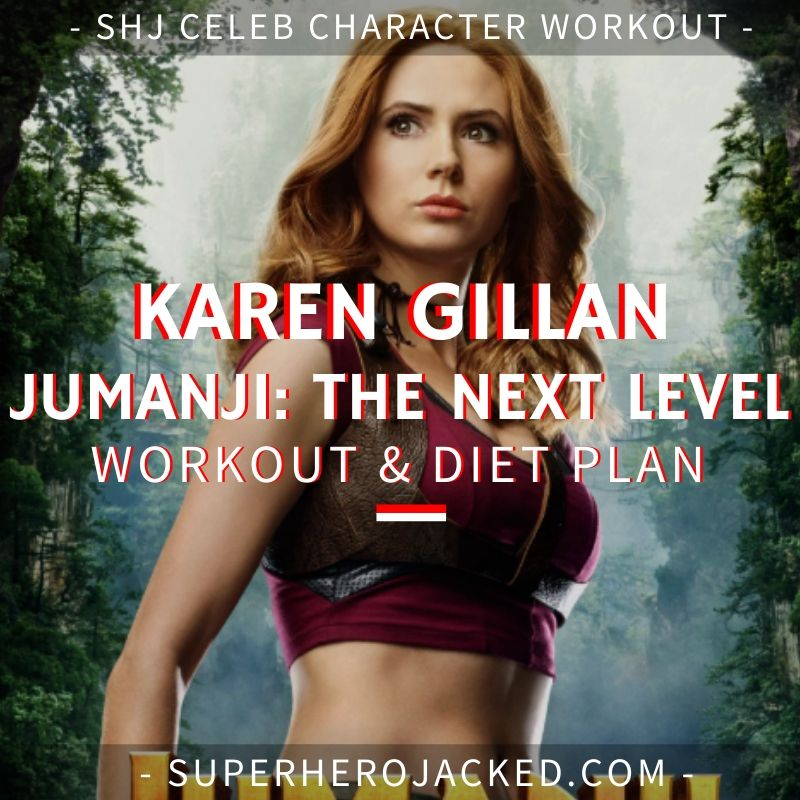 Karen Gillan Jumanji_ The Next Level Workout and Diet