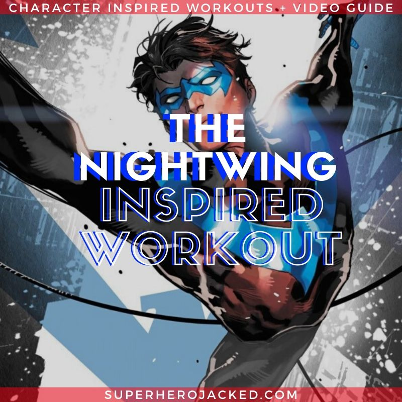 Nightwing Inspired Calisthenics Workout