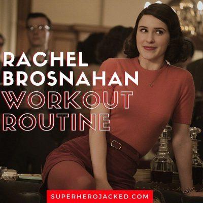 Rachel Brosnahan Workout