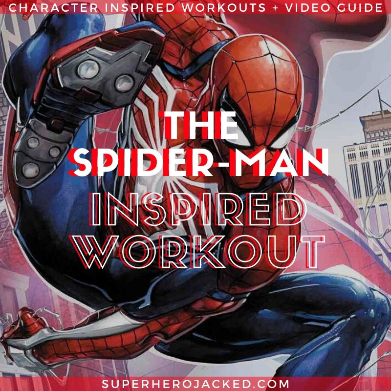 Spider-Man Inspired Workout (2)
