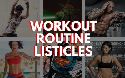 Workout Listicles