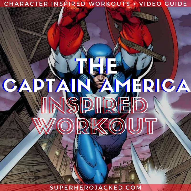 Captain America Inspired Workout 2