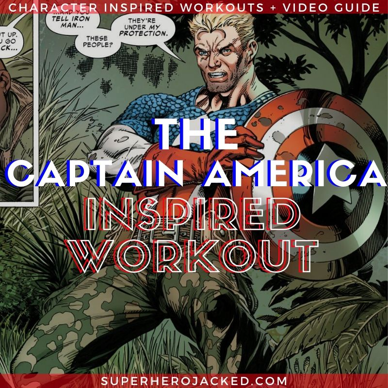Captain America Inspired Workout 3