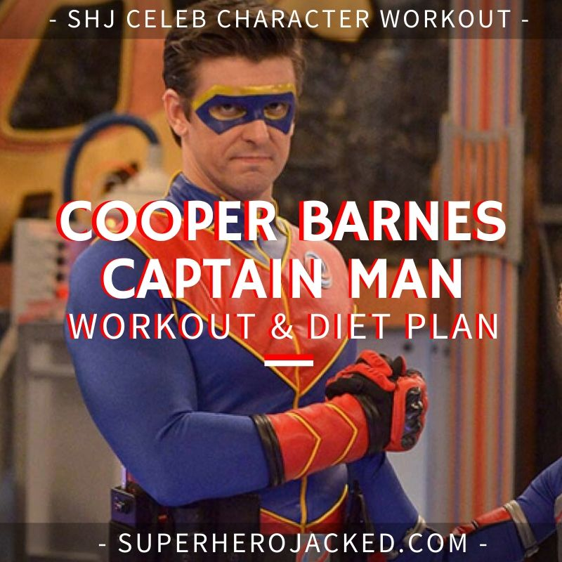 Cooper Barnes Captain Man Workout Routine and Diet