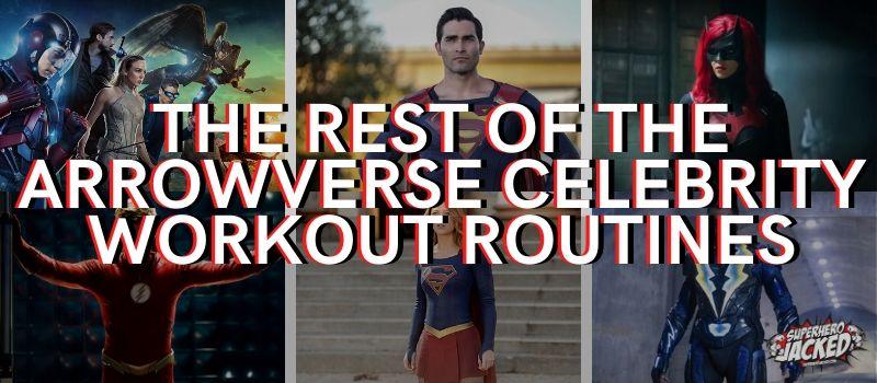 Arrowverse Celebrity Workouts (1)
