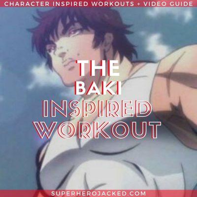 Baki Inspired Workout Routine