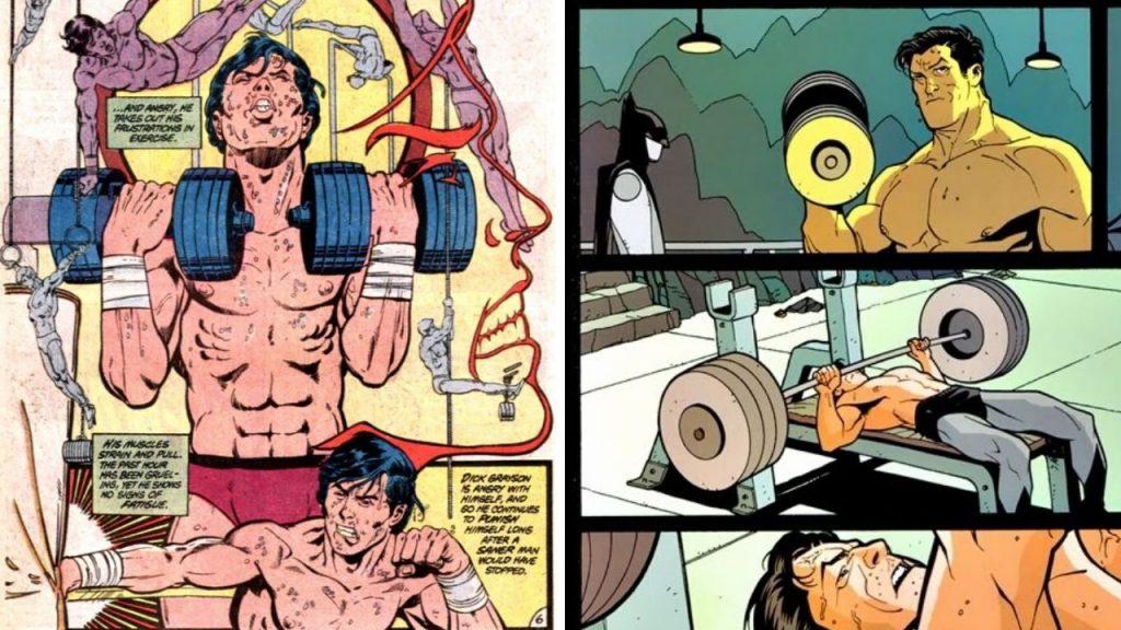 Dumbells Superhero Home Gym