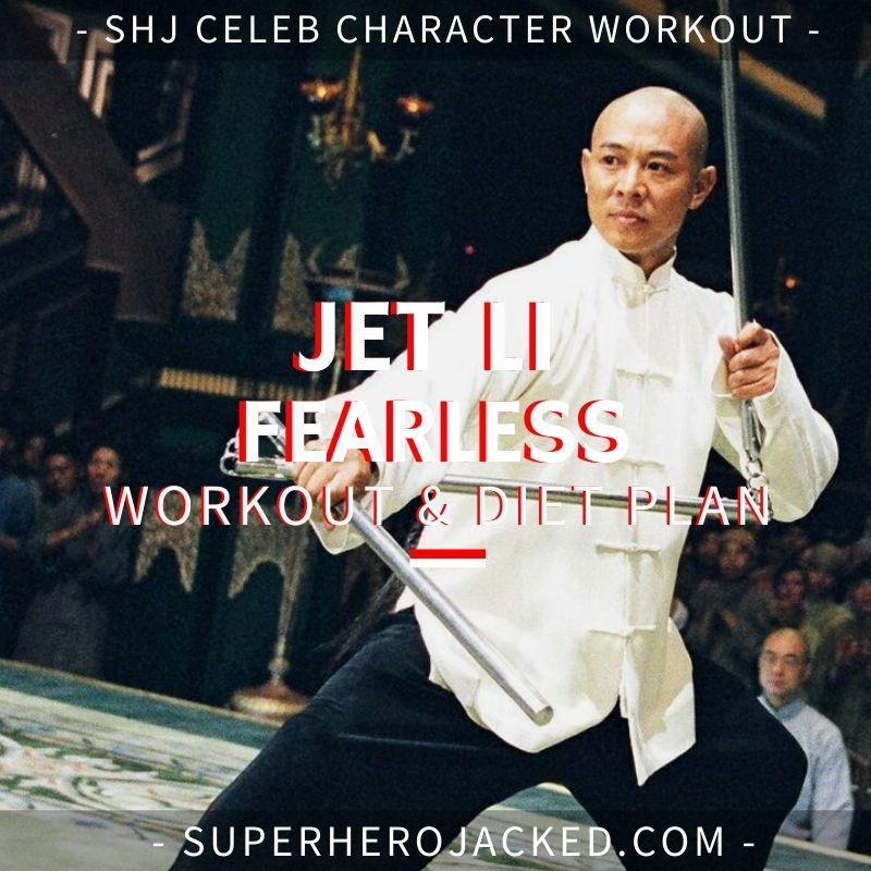 Jet Li Fearless Workout
