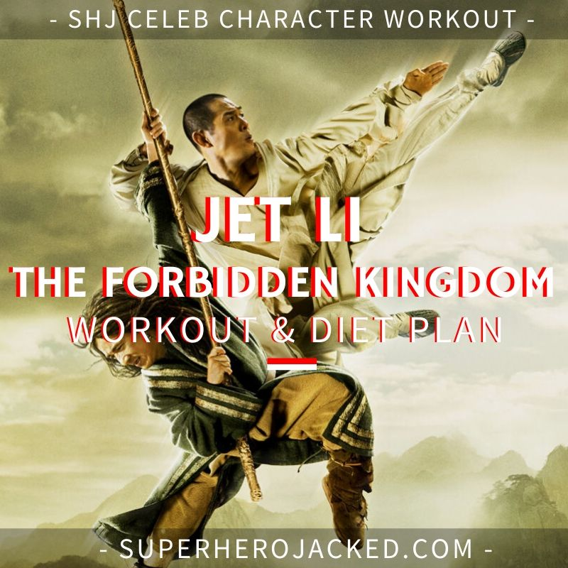 Jet Li Forbidden Kingdom Workout