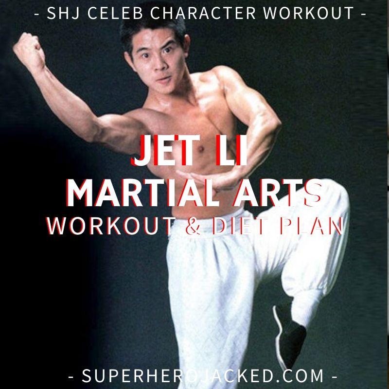 Jet Li Martial Arts Workout