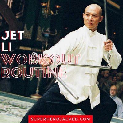 Jet Li Workout
