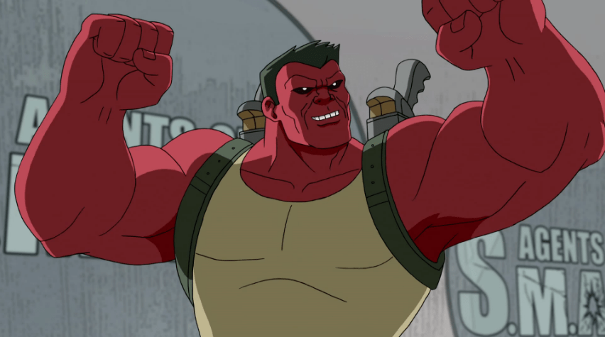 Red Hulk Workout 1