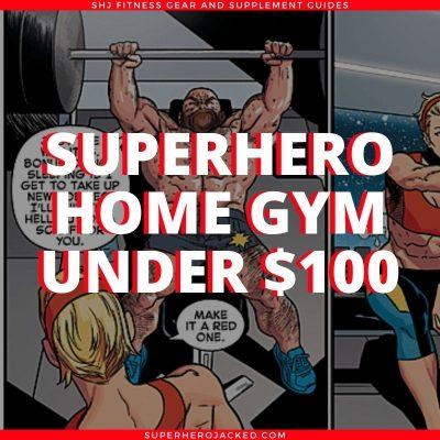 Superhero Home Gym Under $100