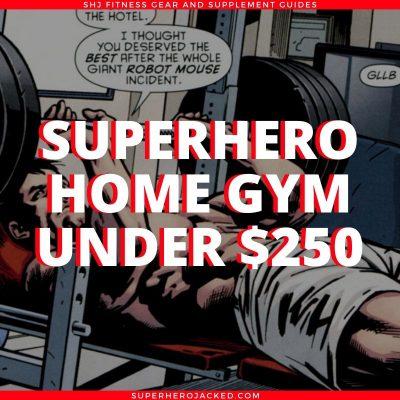Superhero Home Gym Under $250