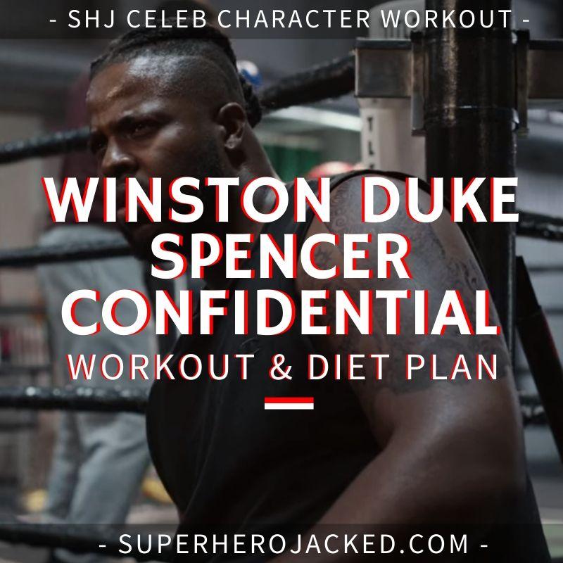 Winston Duke Spencer Confidential Workout