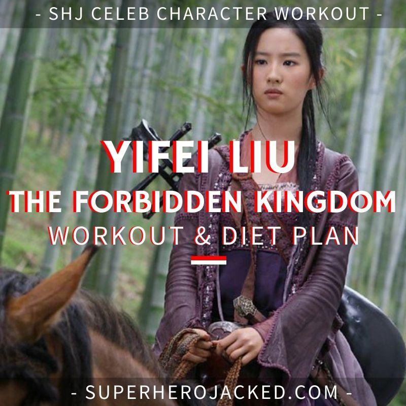Yifei Liu Forbidden Kingdom Workout