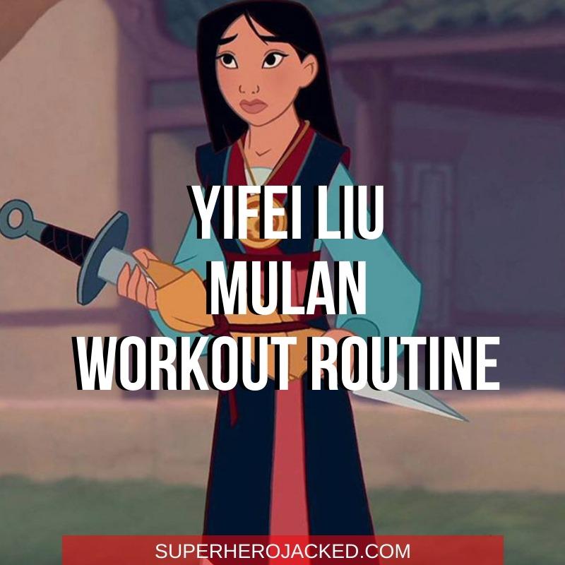 Yifei Liu Mulan Workout (1)