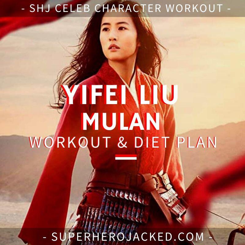Yifei Liu Mulan Workout