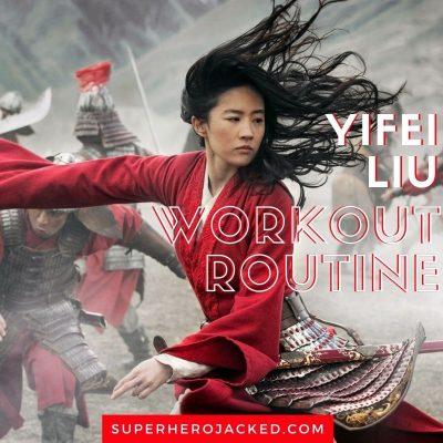 Yifei Liu Workout Routine