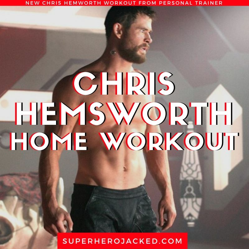 Chris Hemsworth Home Workout