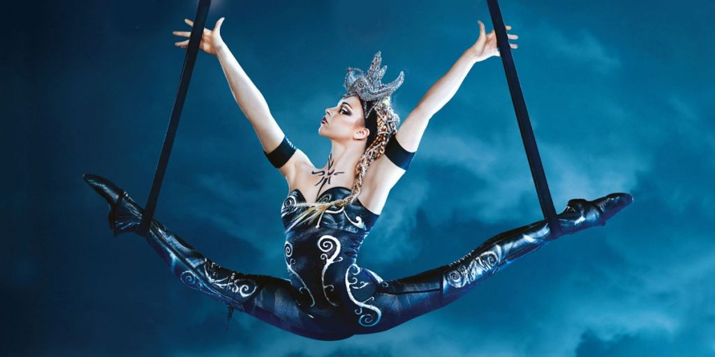 Cirque du Soleil Workout Haley Viloria