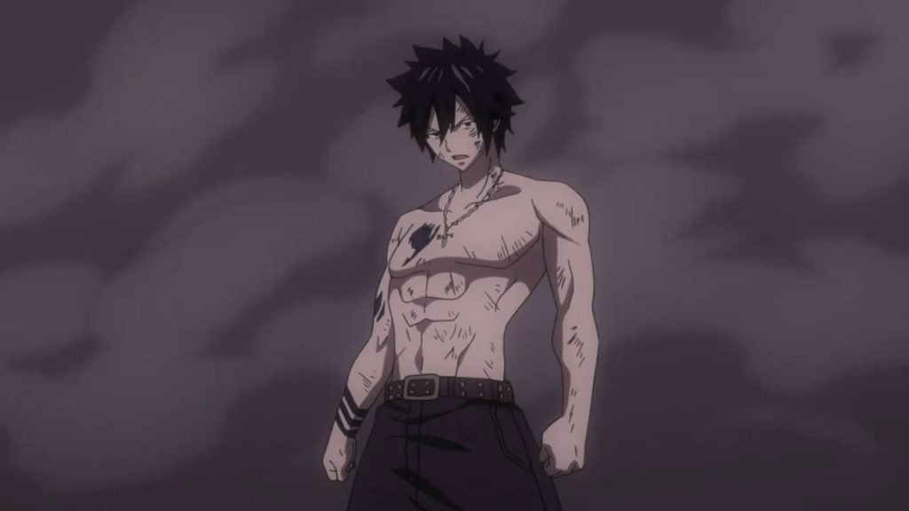Gray Fullbuster Cosplay Workout 2