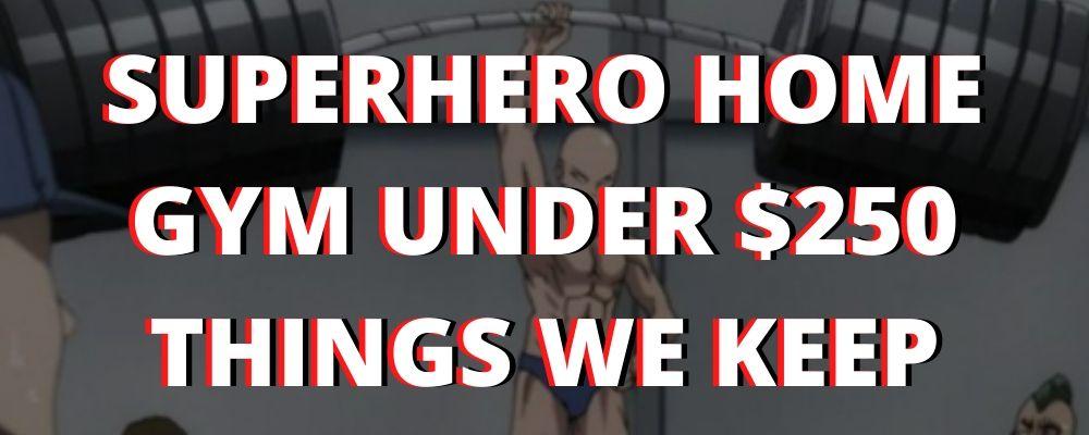 Superhero Home Gym Build Under $250