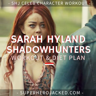 Sarah Hyland Shadowhunters Workout