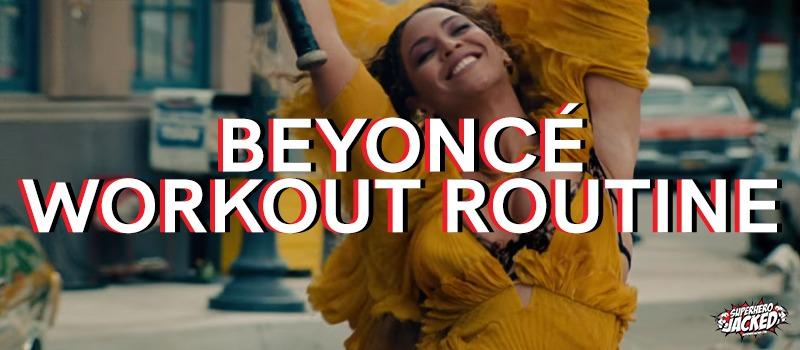 Beyonce Workout Routine