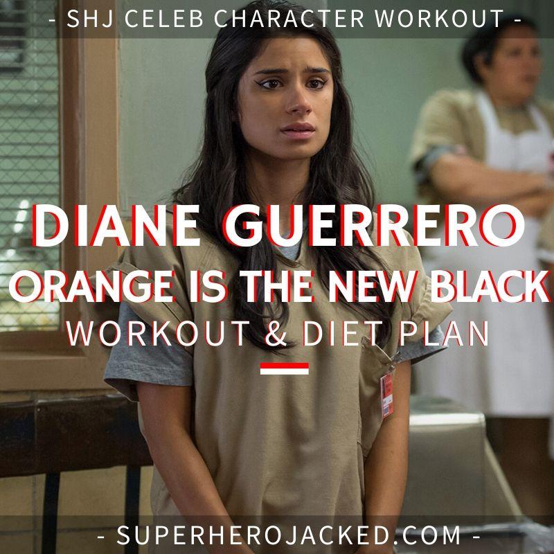 Diane Guerrero Orange Is The New Black Workout