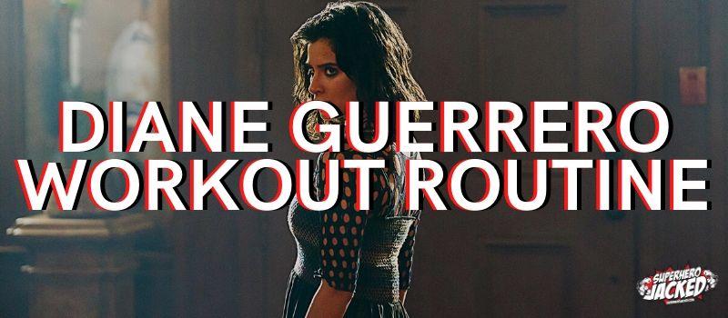 Diane Guerrero Workout Routine
