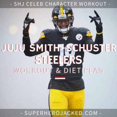 Juju Smith-Schuster Steelers Workout