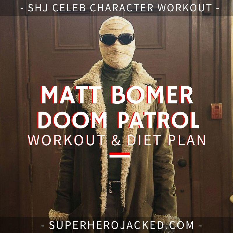 Matt Bomer Doom Patrol Workout