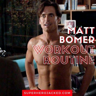 Matt Bomer Workout