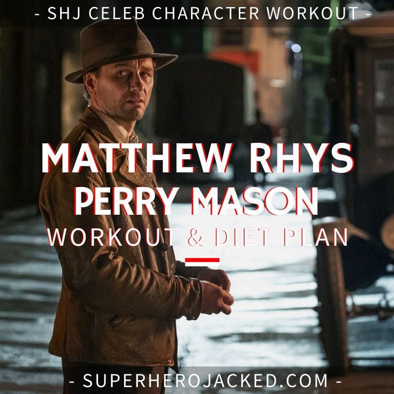 Matthew Rhys Perry Mason Workout