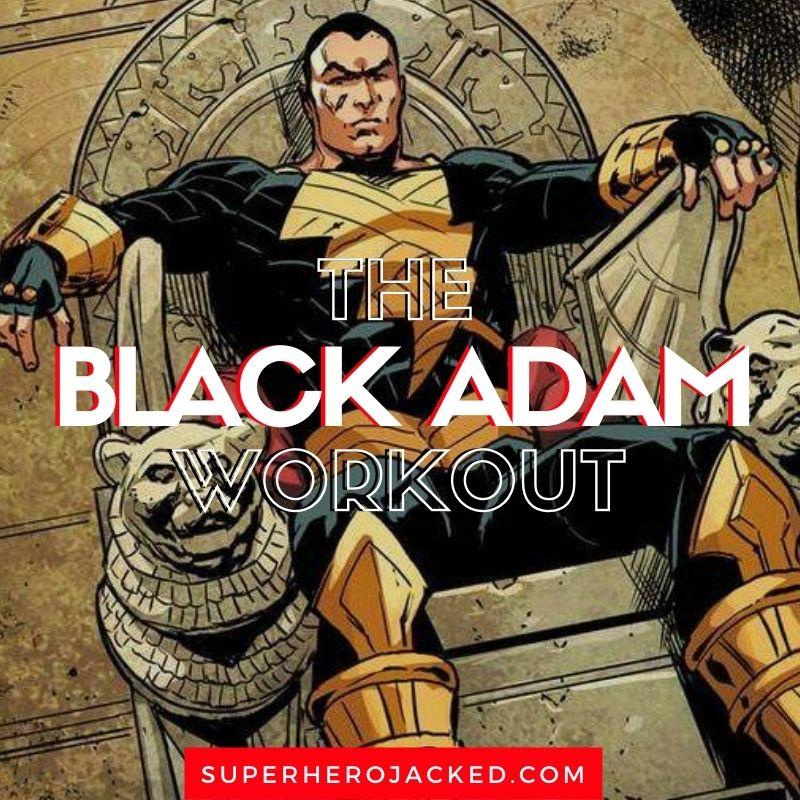 Black Adam Workout Routine