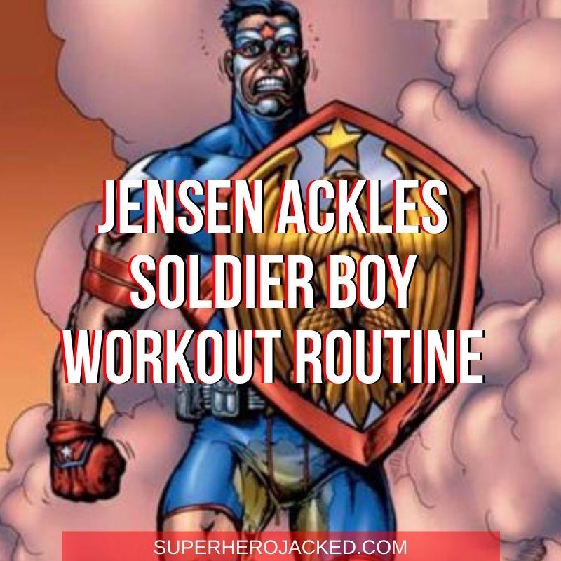 Jensen Ackles Soldier Boy Workout