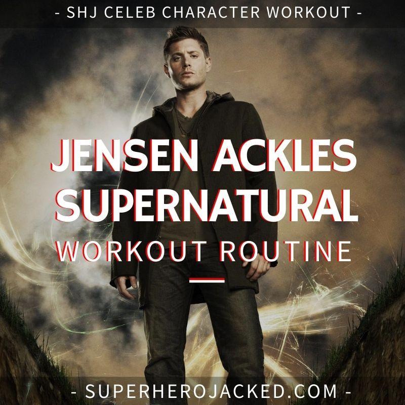 Jensen Ackles Supernatural Workout