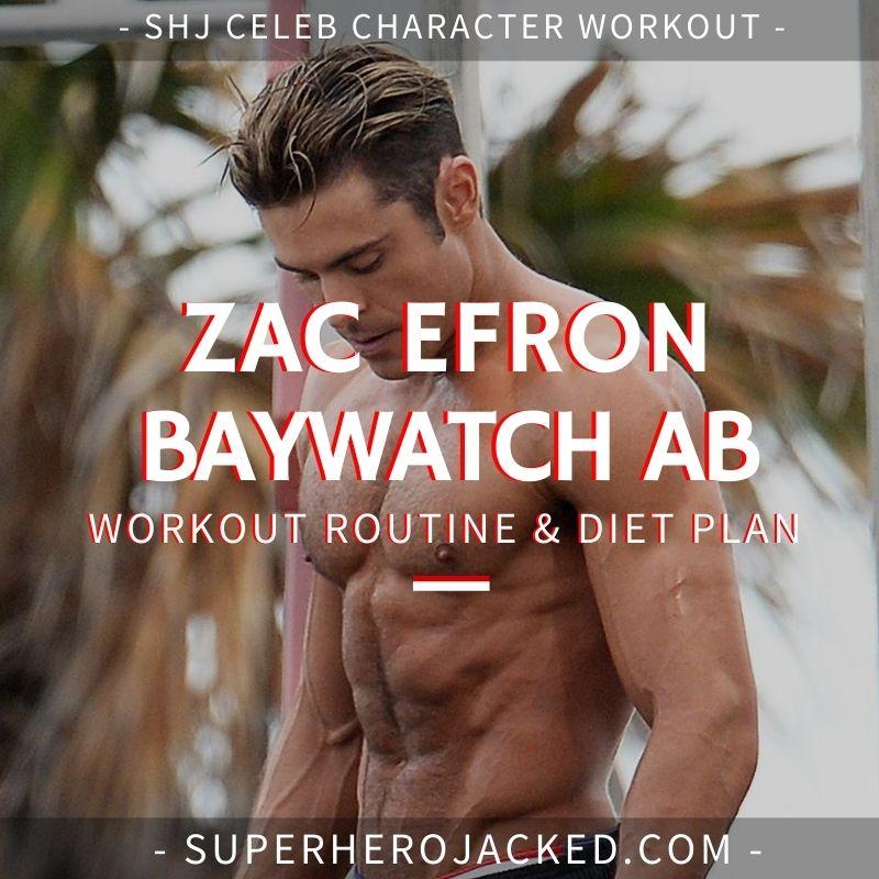 Zac Efron Baywatch Ab Workout