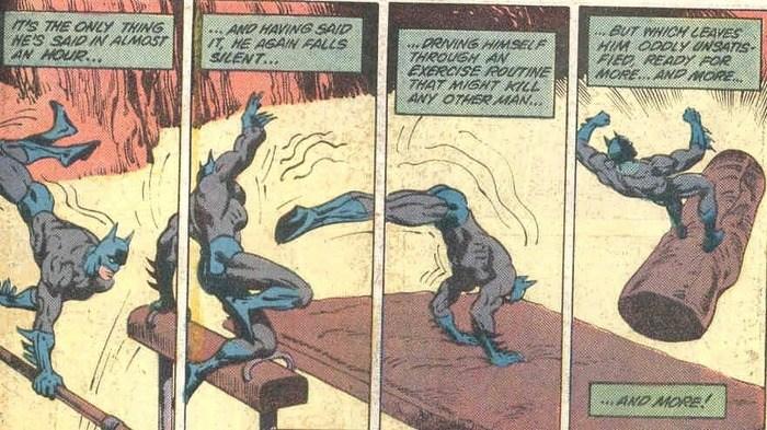 Batman Calisthenics Workout