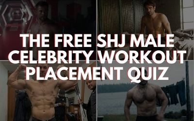 Male Celebrity Workout Placement Quiz