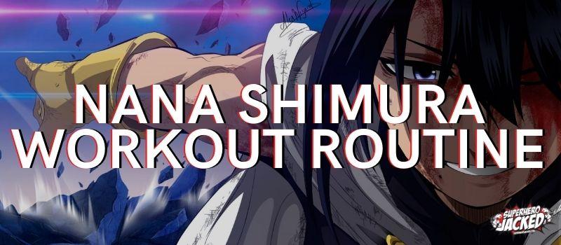 Nana Shimura Workout Routine